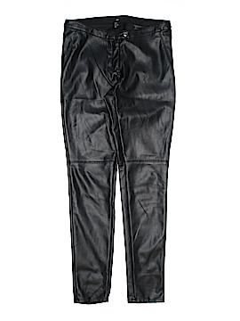 H&M Faux Leather Pants Size 10