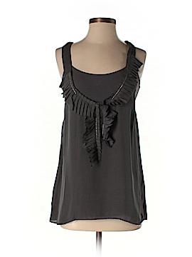 Graham & Spencer Sleeveless Silk Top Size S