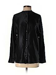 Linda Allard Ellen Tracy Women Long Sleeve Silk Top Size 6