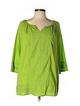 IZOD 3/4 Sleeve Top Size L