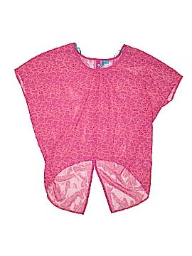 L'Amour Nanette Lepore Short Sleeve Blouse Size S