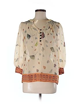Floreat 3/4 Sleeve Silk Top Size 2