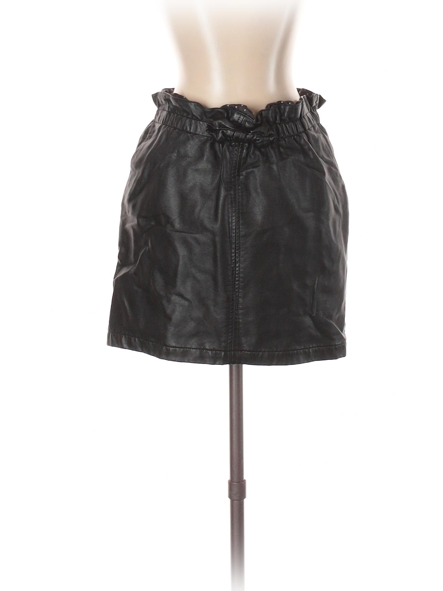 leisure Et Leather Boutique Faux Maintenant Ici Skirt 14wnq8