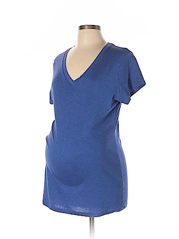 Liz Lange Maternity for Target Short Sleeve T-Shirt Size XXL (Maternity)