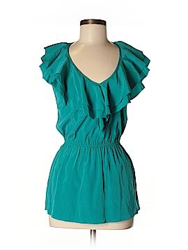 Affliction Sleeveless Silk Top Size 4