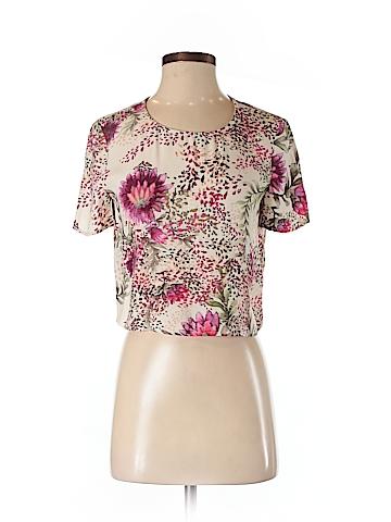 Haute Hippie Short Sleeve Blouse Size XS