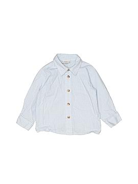 Goodlad Of Philidelphia Long Sleeve Button-Down Shirt Size 18 mo