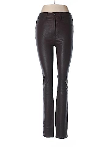 Rag & Bone/JEAN Leather Pants 27 Waist