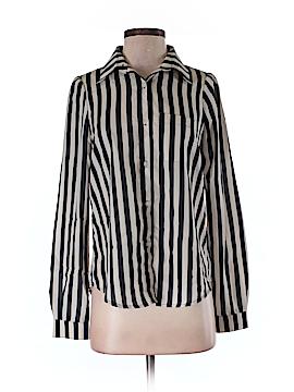 KNT By Kova & T Long Sleeve Blouse Size S