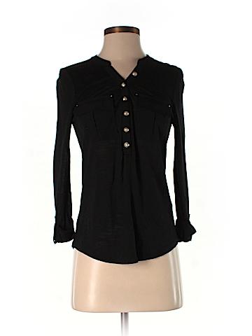 White House Black Market 3/4 Sleeve Top Size XXS