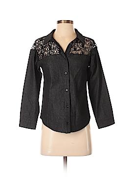 English Factory Long Sleeve Button-Down Shirt Size XS