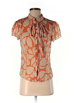 Theme Short Sleeve Blouse Size M