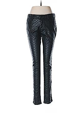 Aqua Faux Leather Pants 29 Waist