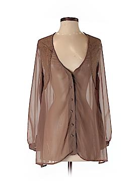 Audrey 3+1 Long Sleeve Blouse Size S