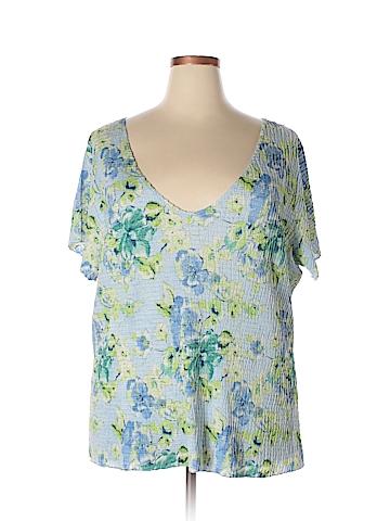 Avenue Short Sleeve Top Size 26-28 Plus (Plus)