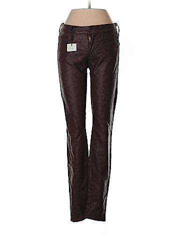 Mother Faux Leather Pants 24 Waist