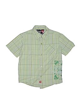 Tony Hawk Short Sleeve Button-Down Shirt Size 5 - 6