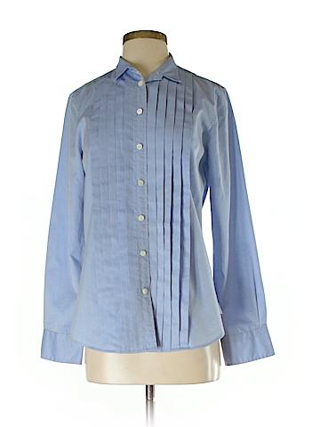 Thomas Mason for J. Crew Long Sleeve Button-Down Shirt Size 4
