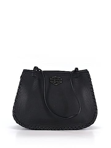 Harley Davidson Leather Shoulder Bag One Size
