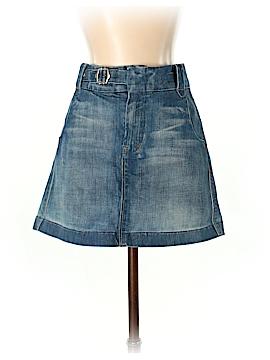 7 For All Mankind Denim Skirt 28 Waist