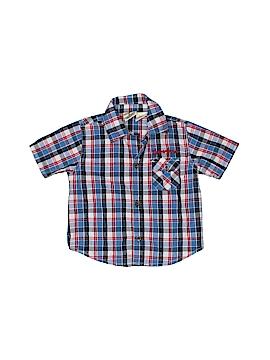Timberland Short Sleeve Button-Down Shirt Size 6-9 mo