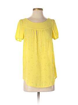 Vanessa Virginia Short Sleeve Blouse Size 4