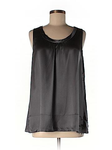 Eileen Fisher Sleeveless Silk Top Size L (Petite)