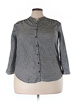 Fun2Fun Long Sleeve Blouse Size 1X (Plus)