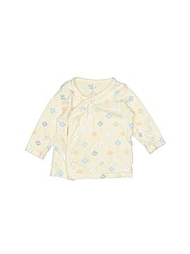 Baby B'gosh 3/4 Sleeve Button-Down Shirt Size 3 mo