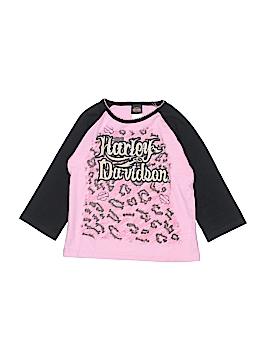 Harley Davidson 3/4 Sleeve T-Shirt Size 4T
