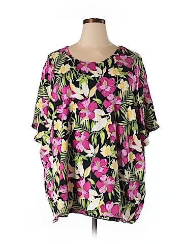 Liz & Me Short Sleeve T-Shirt Size 5X (Plus)