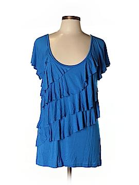 Nicole Miller New York City Short Sleeve Top Size L