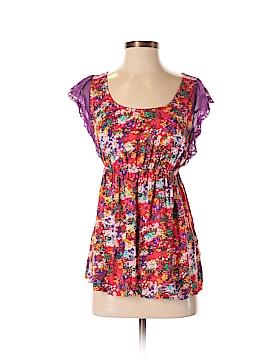 Hello Miss Short Sleeve Blouse Size S