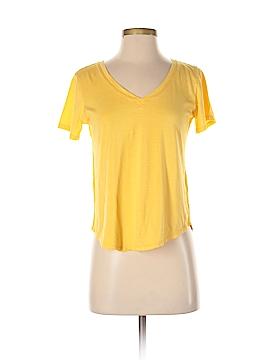 Color Thread Short Sleeve T-Shirt Size S