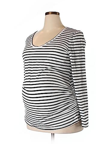 Old Navy Long Sleeve T-Shirt Size XXL (Maternity)