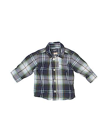 OshKosh B'gosh Long Sleeve Button-Down Shirt Size 6 mo