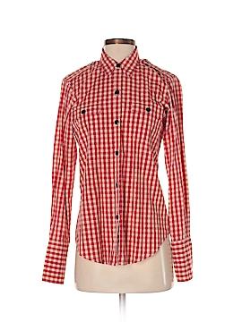 Nili Lotan Long Sleeve Button-Down Shirt Size XS
