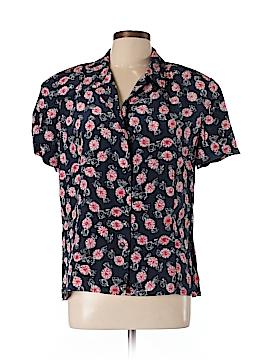 Carlisle Short Sleeve Silk Top Size 16