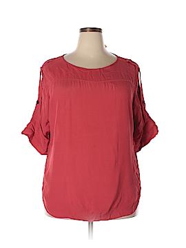 Ann Taylor LOFT 3/4 Sleeve Blouse Size XL (Tall)