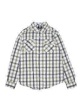Shaun White Long Sleeve Button-Down Shirt Size M (Youth)