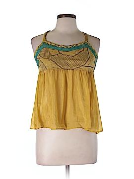 DuO Sleeveless Silk Top Size M