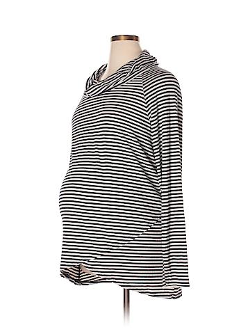 Three Seasons Maternity Long Sleeve Top Size XL (Maternity)