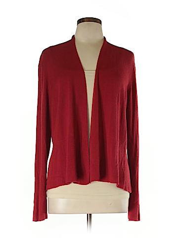 Eileen Fisher Silk Cardigan Size XL