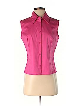 Piazza Sempione Sleeveless Button-Down Shirt Size 44 (IT)