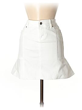 White House Black Market Denim Skirt Size 00