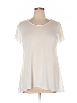 Keren Hart Short Sleeve Top Size 0X (Plus)