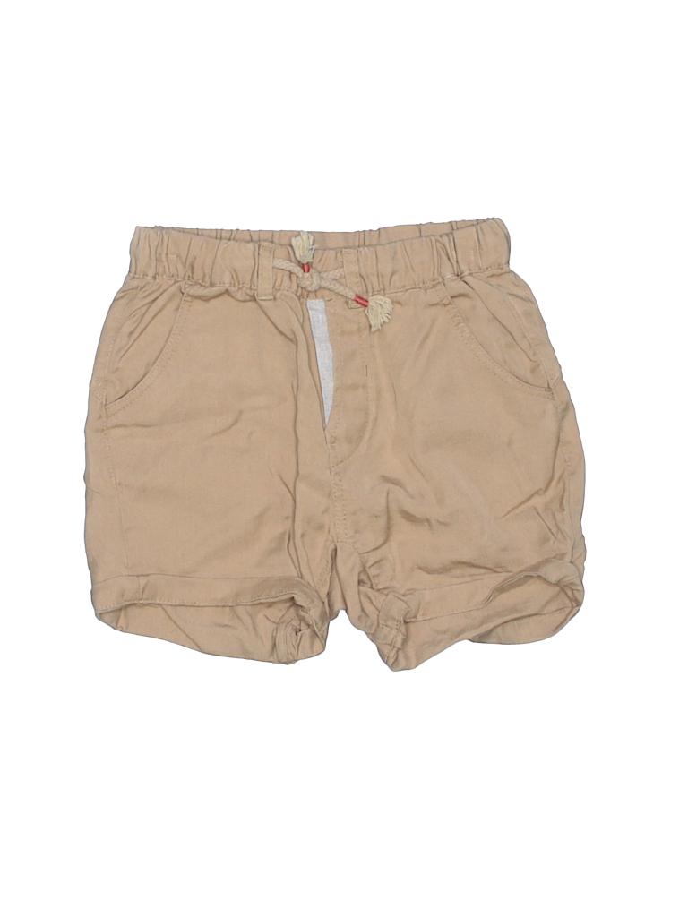 baby girl khaki shorts