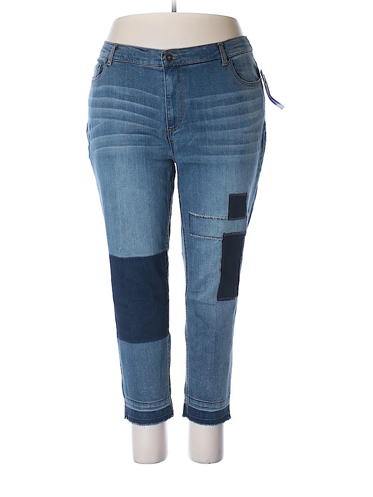 Catherines Women Jeans Size 22W (Plus)