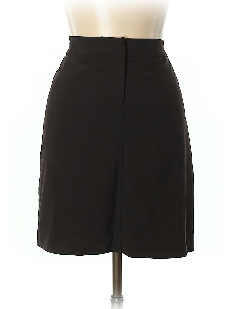 J.jill Women Wool Skirt Size 10