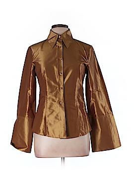 NaraCamicie Long Sleeve Button-Down Shirt Size 10 (IV)